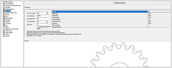 Emachineshop cad features design 2d and 3d parts free for Machine shop layout software
