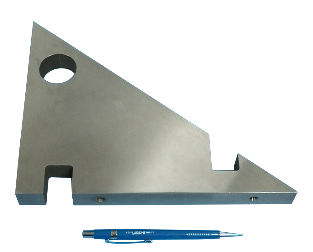 Steel Sculpture Bracket Part