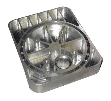Aluminum Vacuum Chamber Part