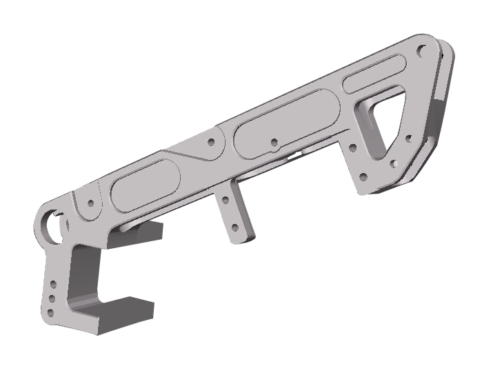 R/C Motorbike Chassis CAD